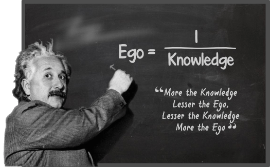 Ego por Einstein